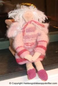 strikket engel